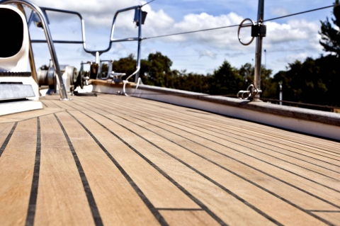 Basic Teak Deck Cleaning and Care