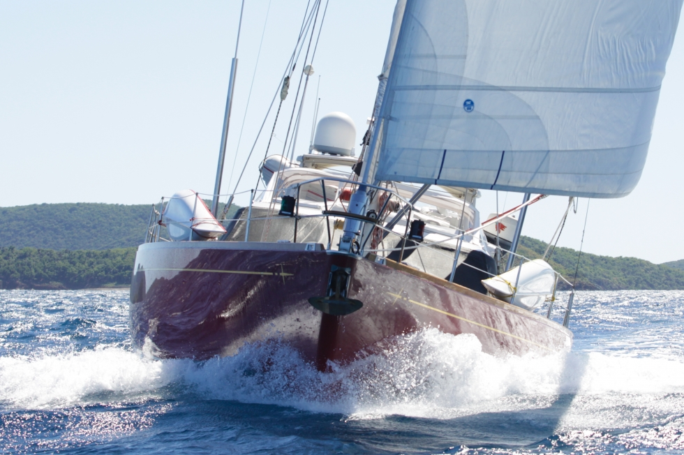1986 Baltic 76 Custom Cutter
