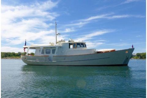 1967 Cammenga North Sea Trawler